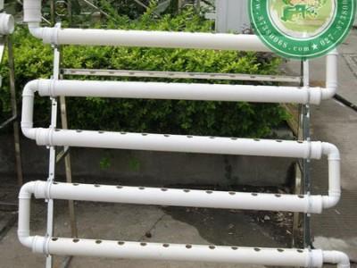 阳台管道式蔬菜无土栽培(彩图)